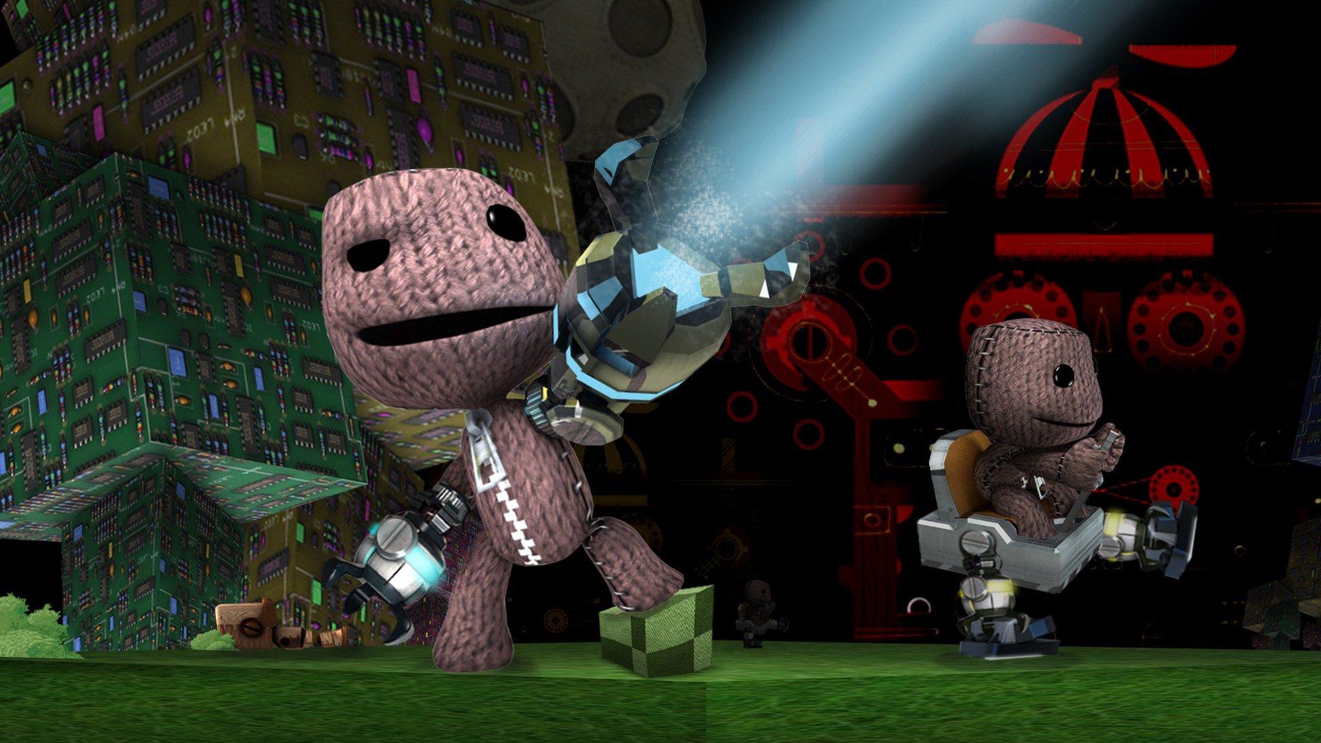 Картинка с анимацией из игр, спокойной